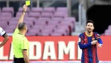 Отклонена апелляция «Барселоны» на предупреждение Месси за жест в память о Марадоне