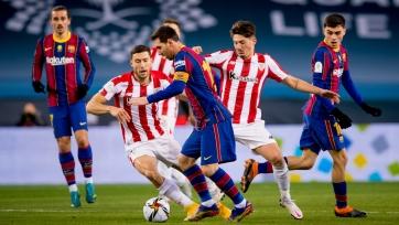 «Атлетик» в финале Суперкубка Испании обыграл «Барселону»