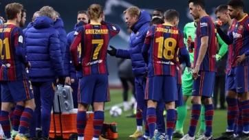 «Барселона» после поражения в финале Суперкубка Испании получила два выходных