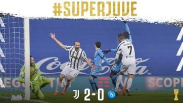 «Ювентус» в 9-й раз в истории выиграл Суперкубок Италии