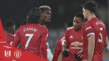 «Манчестер Юнайтед» одержал волевую победу над «Фулхэмом»