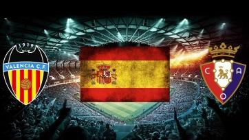 «Валенсия» – «Осасуна». 21.01.2021. Где смотреть онлайн трансляцию матча