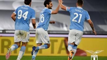 «Лацио» в концовке встречи вырвал победу над «Пармой»