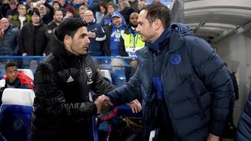 Артета: «Хотел бы, чтобы «Челси» поддержал Лэмпарда и дал ему шанс»