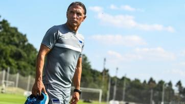 «Герта» уволила главного тренера