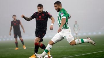 «Бетис» в экстра-тайме дожал «Реал Сосьедад» и прошел в четвертьфинал Кубка Испании