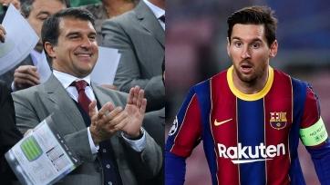 Лапорта: «Заявления «ПСЖ» о желании подписать Месси неуважительны по отношению к «Барселоне»