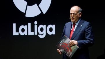 Тебас обвинил Инфантино в поддержке Европейской Суперлиги