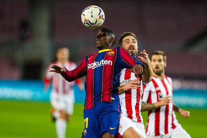 Барселона атлетик бильбао видео голов гол месси