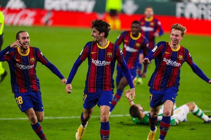 «Бетис» - «Барселона» - 2:3. Обзор матча и видео голов