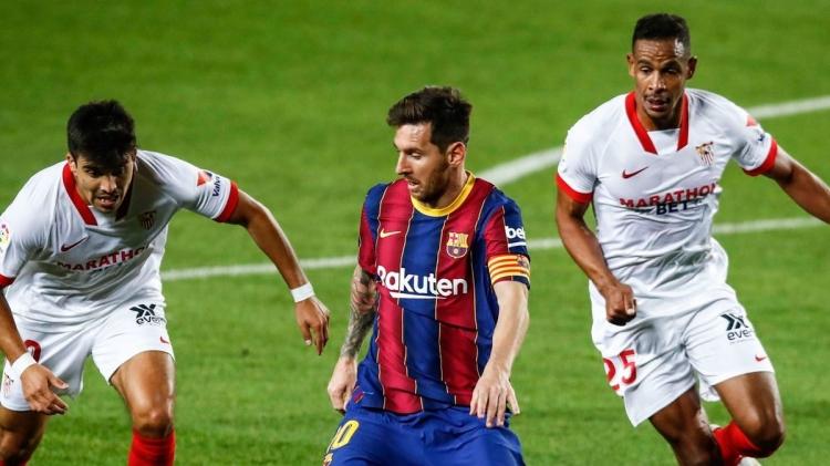«Севилья» - «Барселона» - 2:0. Обзор матча и видео голов