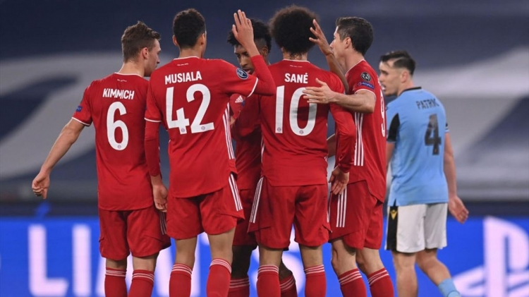 «Лацио» – «Бавария» – 1:4. Обзор матча и видео голов