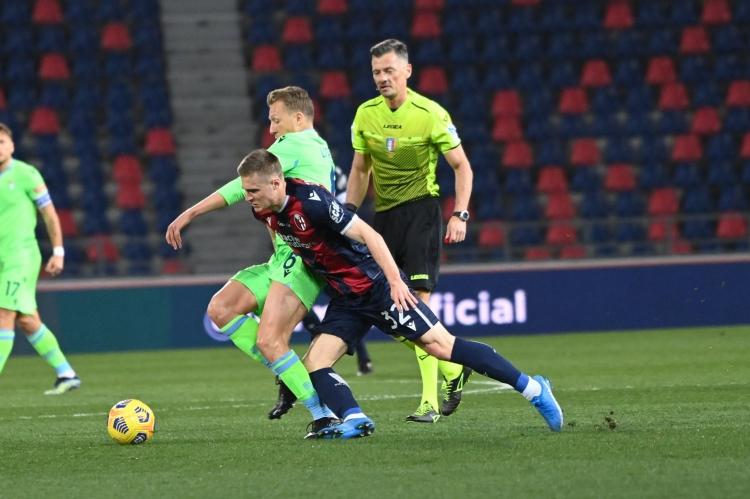 «Болонья» - «Лацио» - 2:0. Обзор матча и видео голов