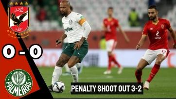 «Палмейрас» уступил «Аль-Ахли» в матче за «бронзу» клубного чемпионата мира
