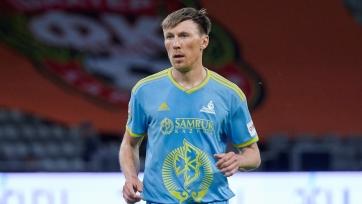 «Астана» отказалась от услуг опытного защитника
