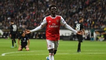 Сака: «Арсенал» доминировал весь матч с «Бенфикой»