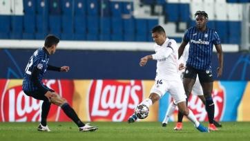 «Реал» в большинстве обыграл «Аталанту»