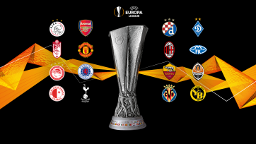 Жеребьевка 1/8-й Лиги Европы. Re-line