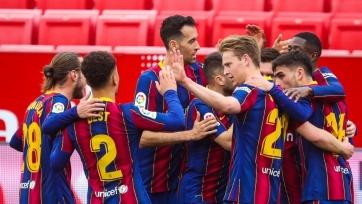 «Барселона» идет на серии из 9 побед в 10 последних матчей в Примере