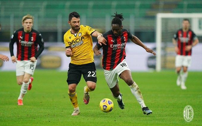 «Милан» - «Удинезе» - 1:1. Обзор матча и видео голов