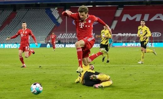 «Бавария» - «Боруссия» Д – 4:2. Обзор матча и видео голов