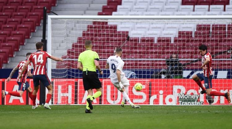 «Реал» в мадридском дерби вырвал ничью у «Атлетико»