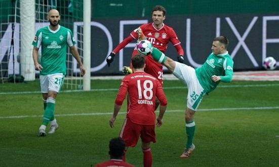 «Вердер» - «Бавария» - 1:3. Обзор матча и видео голов
