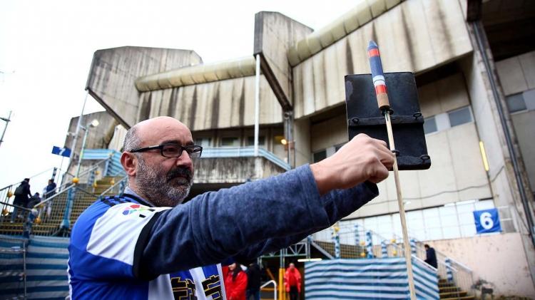 Ракетчик Сан-Себастьяна. Как фанат «Сосьедада» поддерживает старую традицию в пандемию