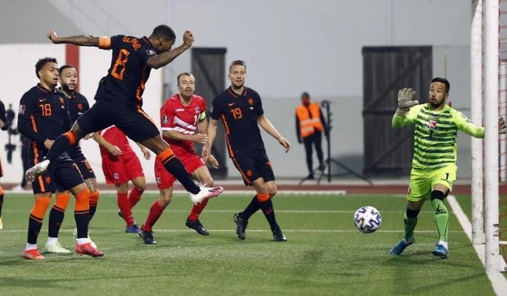 Гибралтар – Нидерланды – 0:7. Обзор матча и видео голов
