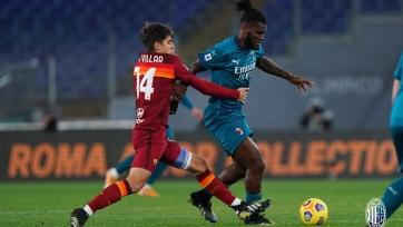 «Милан» на выезде добыл непростую победу над «Ромой»