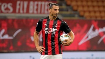Ибрагимович пропустит первый матч «Милана» против «МЮ»