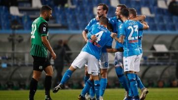 «Сассуоло» и «Наполи» поделили очки в матче с тремя пенальти