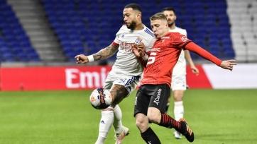 «Лион», «Брест» и «Ницца» выиграли свои матчи в Лиге 1