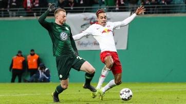 «РБ Лейпциг» прошел «Вольфсбург» на пути в 1/2 финала Кубка Германии