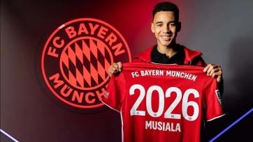«Бавария» переподписала Мусиалу