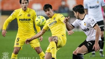 «Валенсия» на последних секундах вырвала победу в игре с «Вильярреалом»