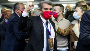 Лапорта стал президентом «Барселоны»
