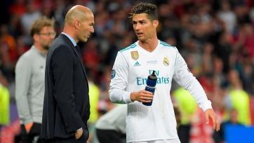 Зидан допустил возвращение Роналду в «Реал»