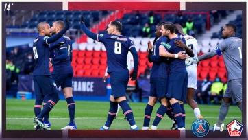 «ПСЖ» одолел «Лилль» и прошел в четвертьфинал Кубка Франции