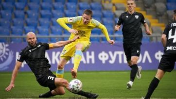 «Астана» переиграла дома «Каспий»