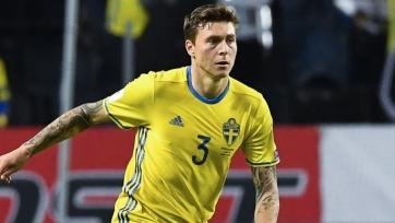 Линделеф покинул лагерь сборной Швеции