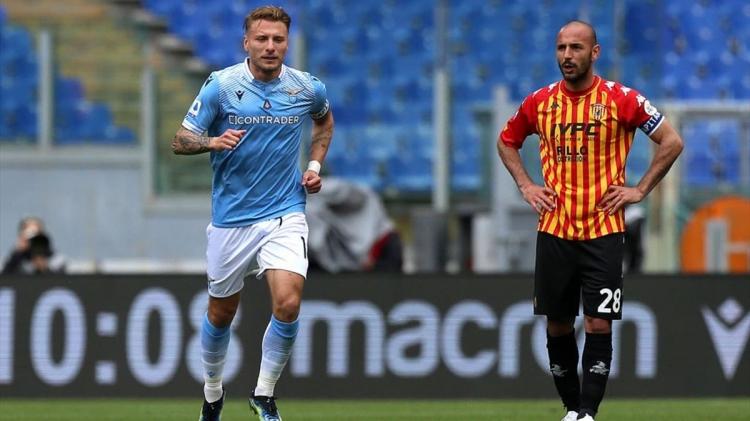 «Лацио» – «Беневенто» – 5:3. Обзор матча и видео голов
