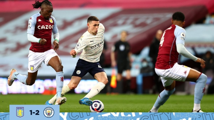 «Астон Вилла» – «Манчестер Сити» – 1:2. Обзор матча и видео голов