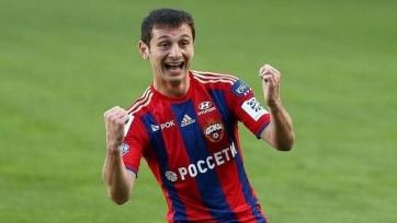 Дзагоев вернулся к полноценным тренировкам