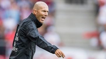 Зидан: «Реал» недооценивают, но мы никогда не сдаемся»