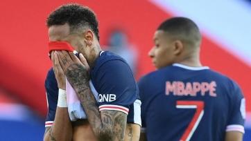 Неймар получил дополнительное наказание за удаление в матче против «Лилля»