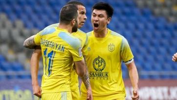 «Астана» одержала волевую победу над «Атырау»