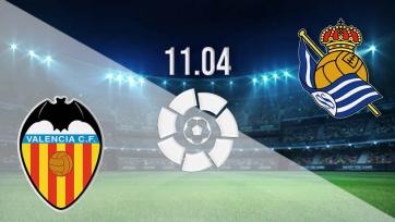 «Валенсия» – «Реал Сосьедад». 11.04.2021. Где смотреть онлайн трансляцию матча