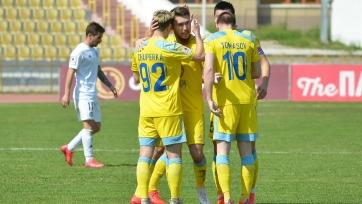 «Астана» увезла три очка из Шымкента