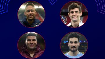 Названы четыре претендента на титул лучшего игрока недели в Лиге чемпионов
